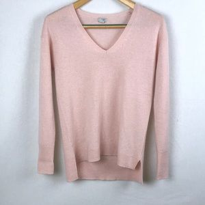 Light Pink Oversized Cashmere Sweater